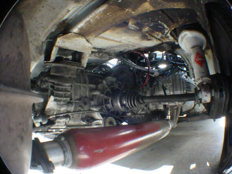 Subaru Flat 6 Porsche 914 Engine Conversion