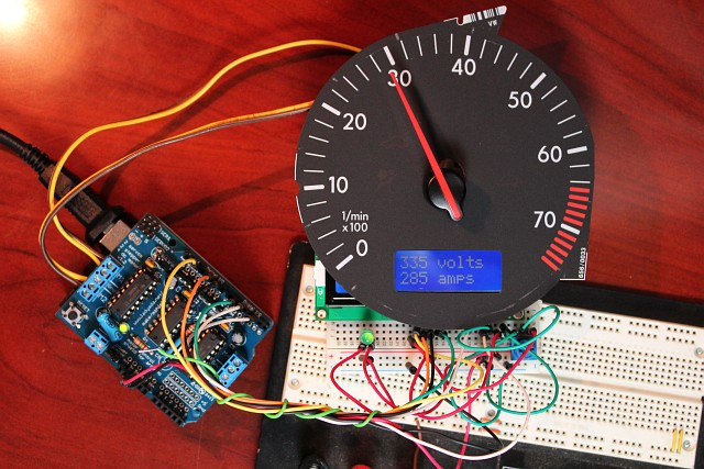 Arduino tach hack diy electric car forums